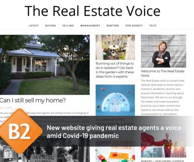 New website giving real estate agents a voice amid Covid-19 pandemic