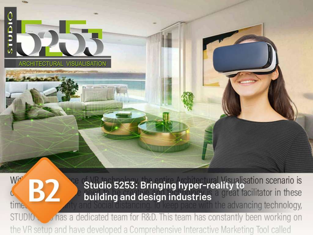 Studio 5253: Bringing hyper-reality to building and design industries