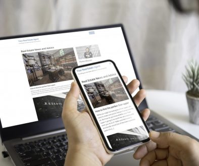 Real Estate Website Blog