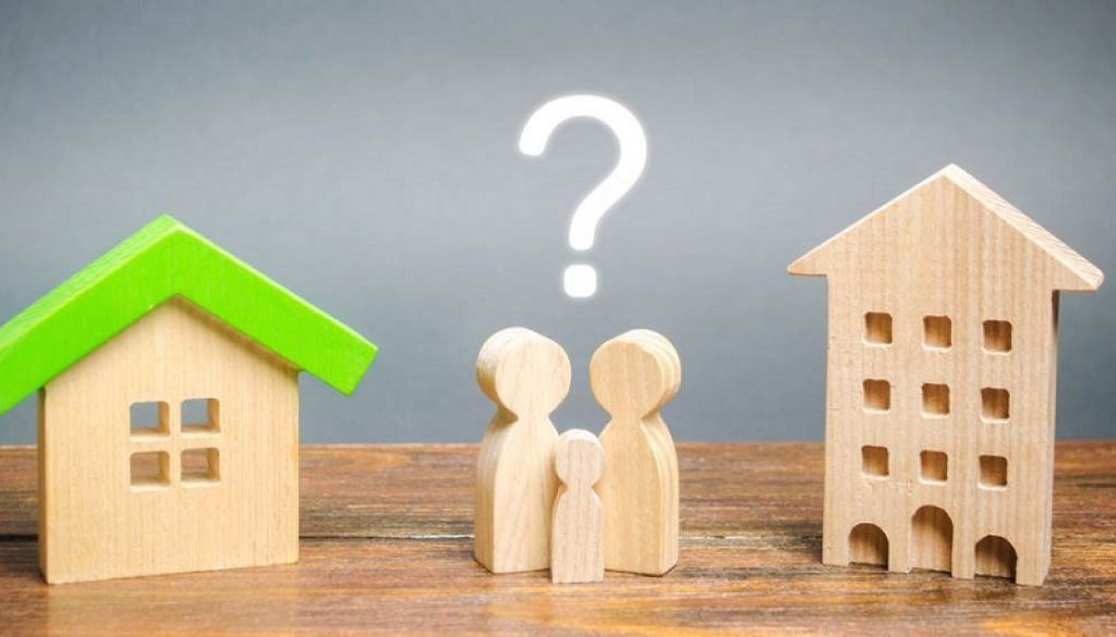 Apartment or house what's best for you