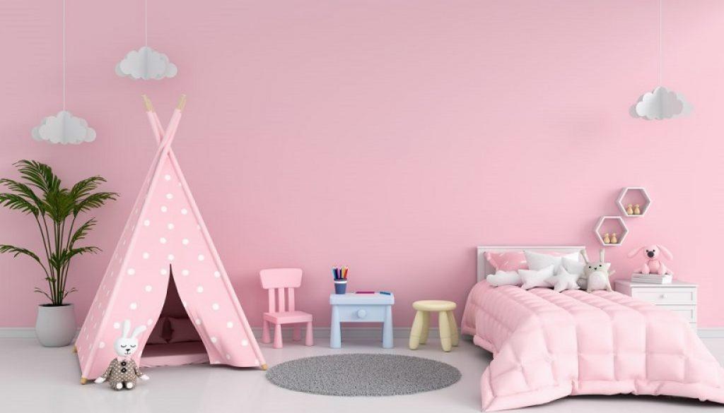 Little girls bedroom makeover