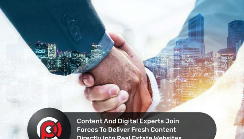 Content and digital experts join forces to deliver fresh content directly into real estate websites