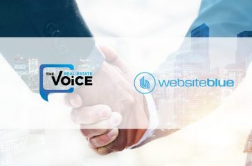 The Real Estate Voice and Website Blue