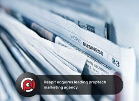 Reapit acquires leading proptech marketing agency