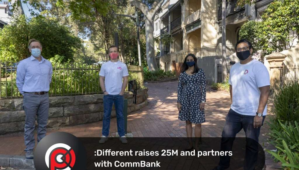 :Different raises $25M and partners with CommBank to reimagine the home ownership experience